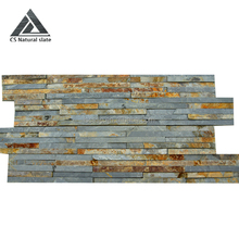 Hot sale home depot stone wall decorative rustic slate z brick stone