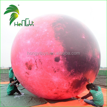 Helium Advertising Giant Inflatable Moon Balloon