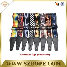 Wholesale various styles electric guitar strap/ guitar strings