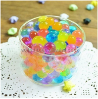 super absorbent polymer magic water crystal soil /water absorbing polymer balls water gel
