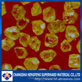 hot sale china manufacturer industrial synthetic kelly yellow diamond powder
