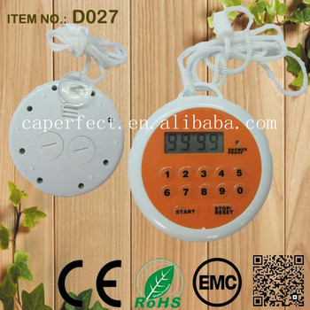 China supplier 100 minutes mini round digital timer