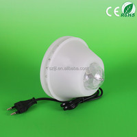 CE,UL,TUV 8w mini disco full color ball led rotating stage light