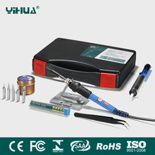 YIHUA 947-III 60W adjustable electric soldering iron with 5 TIPS 6 in1 soldering iron kit