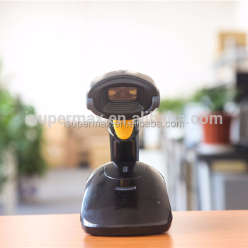 SuperLead 5130 Wireless Bluetooth 2D Barcode Scanner with memory Long distance Manual or auto Trigger High Quality