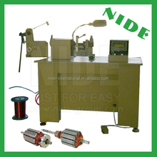 Power tool motor rotor winding machine