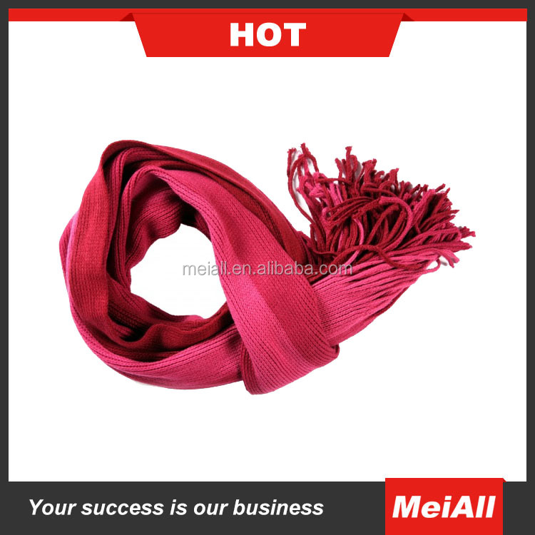 Factory Direct sale winter thick knitted neck warmer scarf