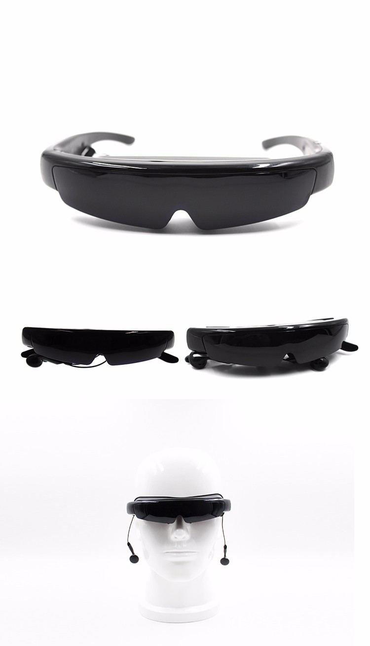 98Inch 3D Video Glasses Goggles Portable Personal Cinema Theater xnxx blue film 3d video glasses for computer