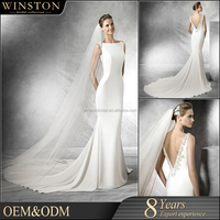 supply all kinds of wedding dresses detachable train