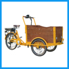 Front Loading Large Carrier Three Wheel Bike Trailer Cargo For Sale