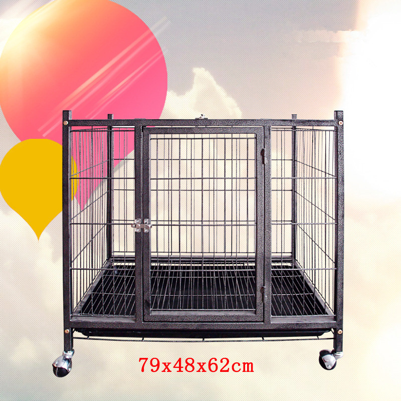 New Design Fashion Dog Crate Foldable Iron XXL Dog Cage