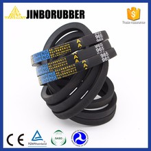 Powerful classic factory color poly rubber v-belts