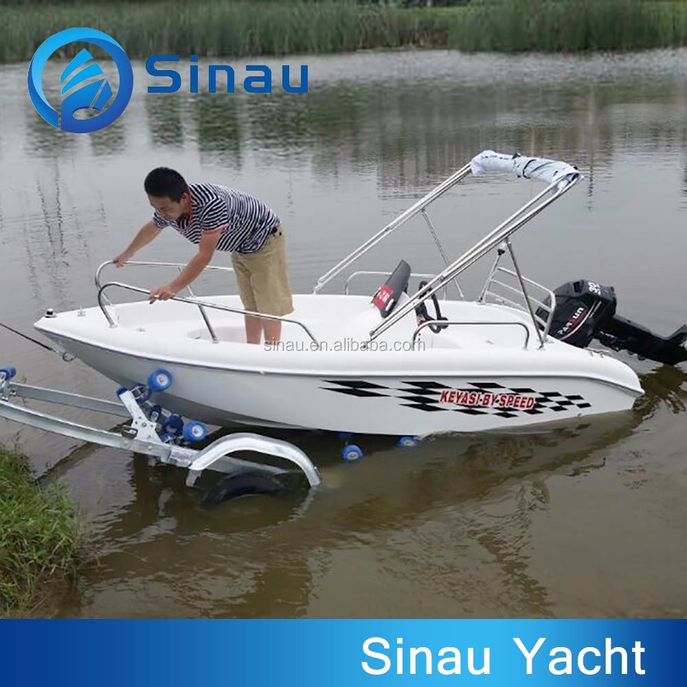Small fiberglass fishing boat for sale small speed for Small boats for fishing