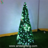 LED garland cone motif light for Christmas decorations