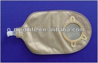 One - Piece Urostomy Pouch Non-woven fabric or PE puncturing lining.