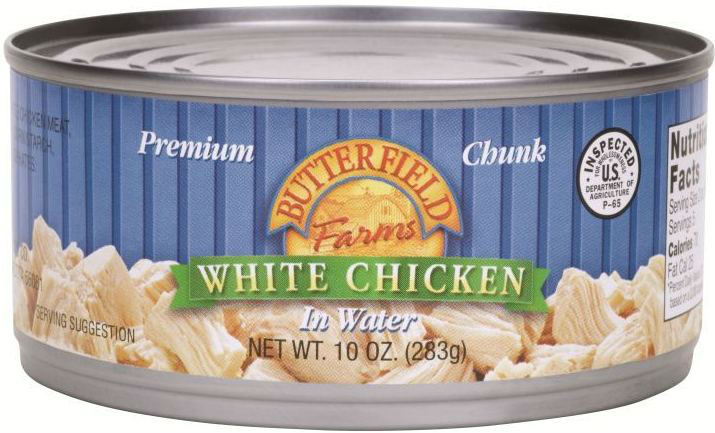 Butterfield Farms 10oz White Chicken in Water