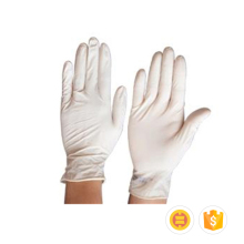 Factory supply customized professional disposable medical latex gloves