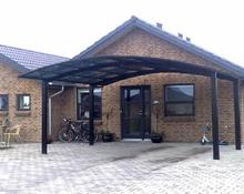 5500mm*3000mm*2900mm cheap price durable outdoor aluminum carport/canopy