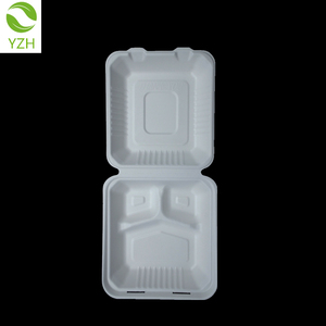 100% biodegradable food containers compostable disposable lunch boxes
