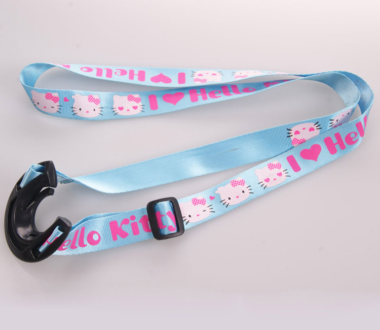 New design car logo designer lanyard with bottle opener id badge holder