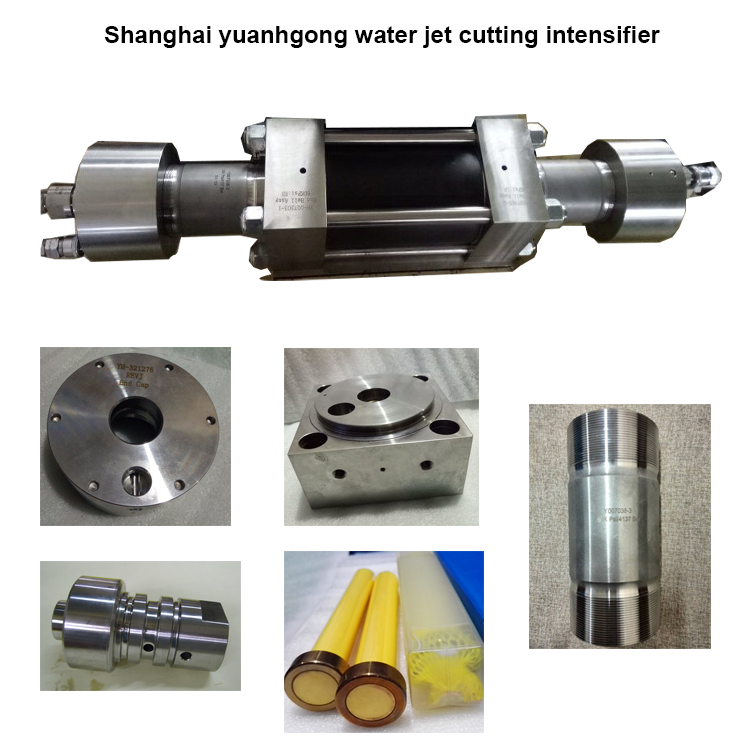 High quality intensifier for waterjet intensifier pump ;60 K psi intensifier sapre parts for waterjet cutting