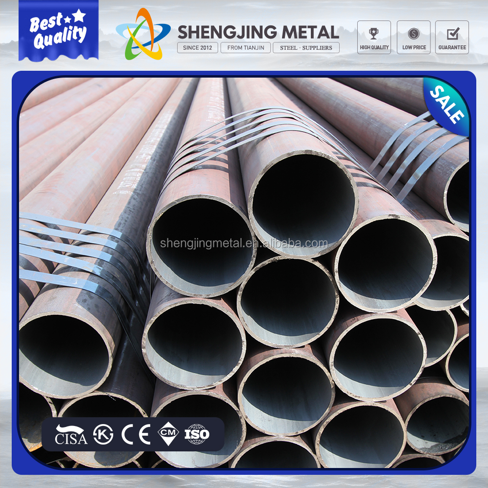 "galvanized pipe 6"" 8"" 12"" SCH 40 80 140mm seamless steel pipe tube"