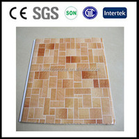 decorative pvc wall panels pvc plastic wood board for Costa Rica