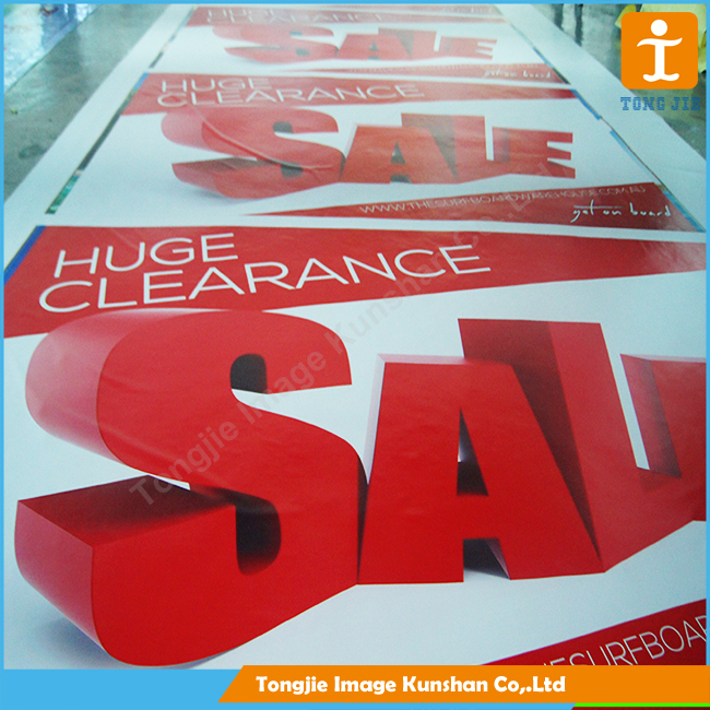 Advertising Printing Street Banner with quality on top and bottom