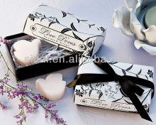 "White ""Love Doves"" Scented Soaps"