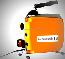 High pressure small pipe cleaning machine water jet drain cleaner