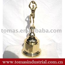 metal sport trophy cup with basketball player