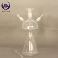 2014 hot sale smoke glass shisha hookah