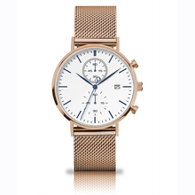 Top Selling Private Label Luxury Rose Gold Watches 3 Atm Water Resistant Stainless Steel Watches Mens Watch