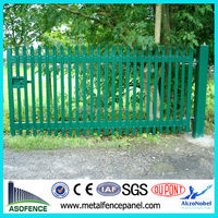 security steel wrought iron gates for garden
