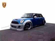 fiberglass kit part mini series R56 R57 R58 vehicle modify to l b style wide body kit