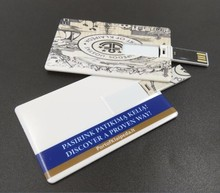 Promotional Super Slim Business Credit Card Shaped Type Usb Flash Drive