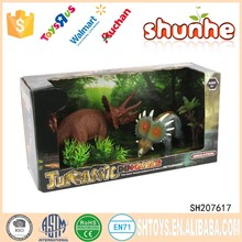 Manufacture wholesale mini plastic gift dinosaur set toy