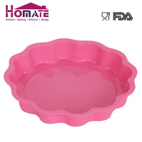 Silicone tart mould Eco-friendly silicone cake mold body