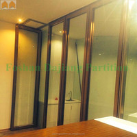 Tempered Glass Sliding Door for Office
