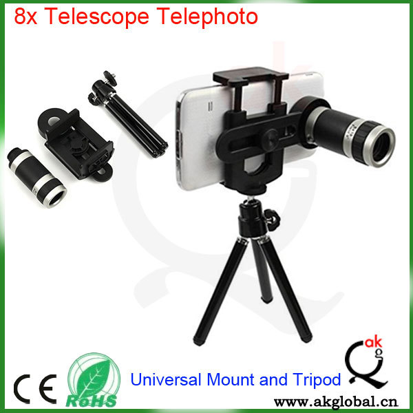8x optical camera lens zoom telephoto lens for mobile phone