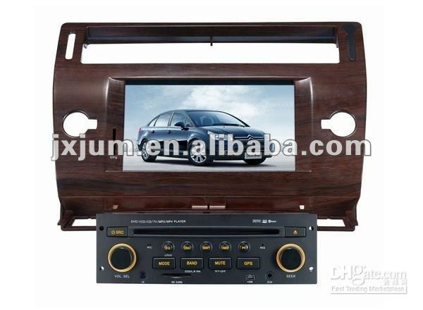 car dvd player for citroen c4