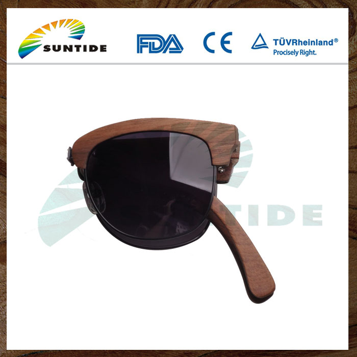 2017 New Design Hot Sale Unisex Foldable Sunglasses with Unique Packing