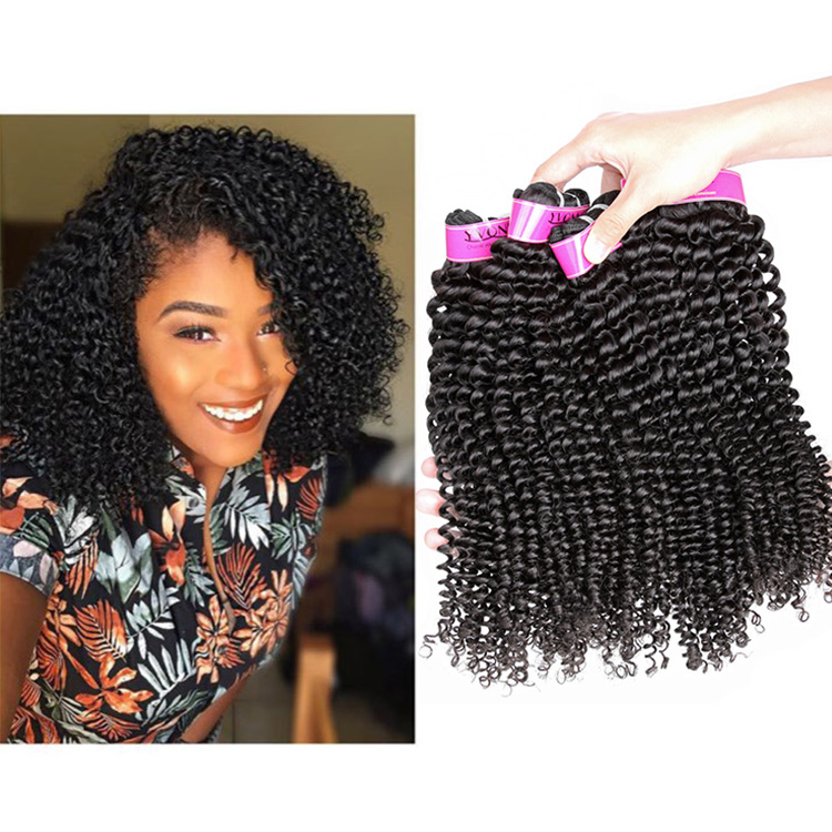 Yvonne Hair Best Selling Products Kinky Curly Brazilian Virgin Hair <strong>Weave</strong>