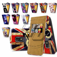 For Samsung Galaxy Note 3 High Quality Print Flip PU Leather Case Cover Moible Phone Case