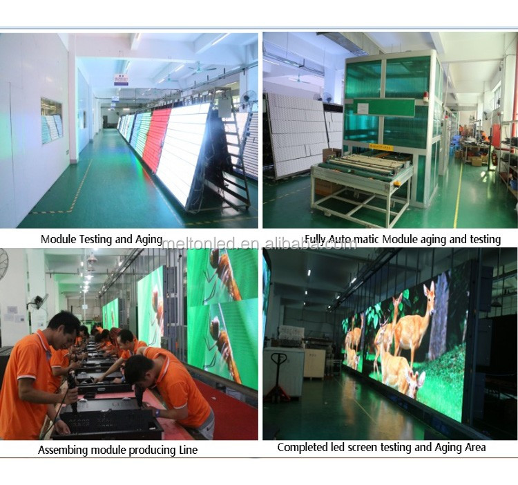 Iron fixed cabinet outdoor advertising digital display screens