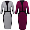 CUSTOM Fashion Women's Stretch Tunic Tight Short Pencil Sheath Dress for Formal Office Ladies Dresses