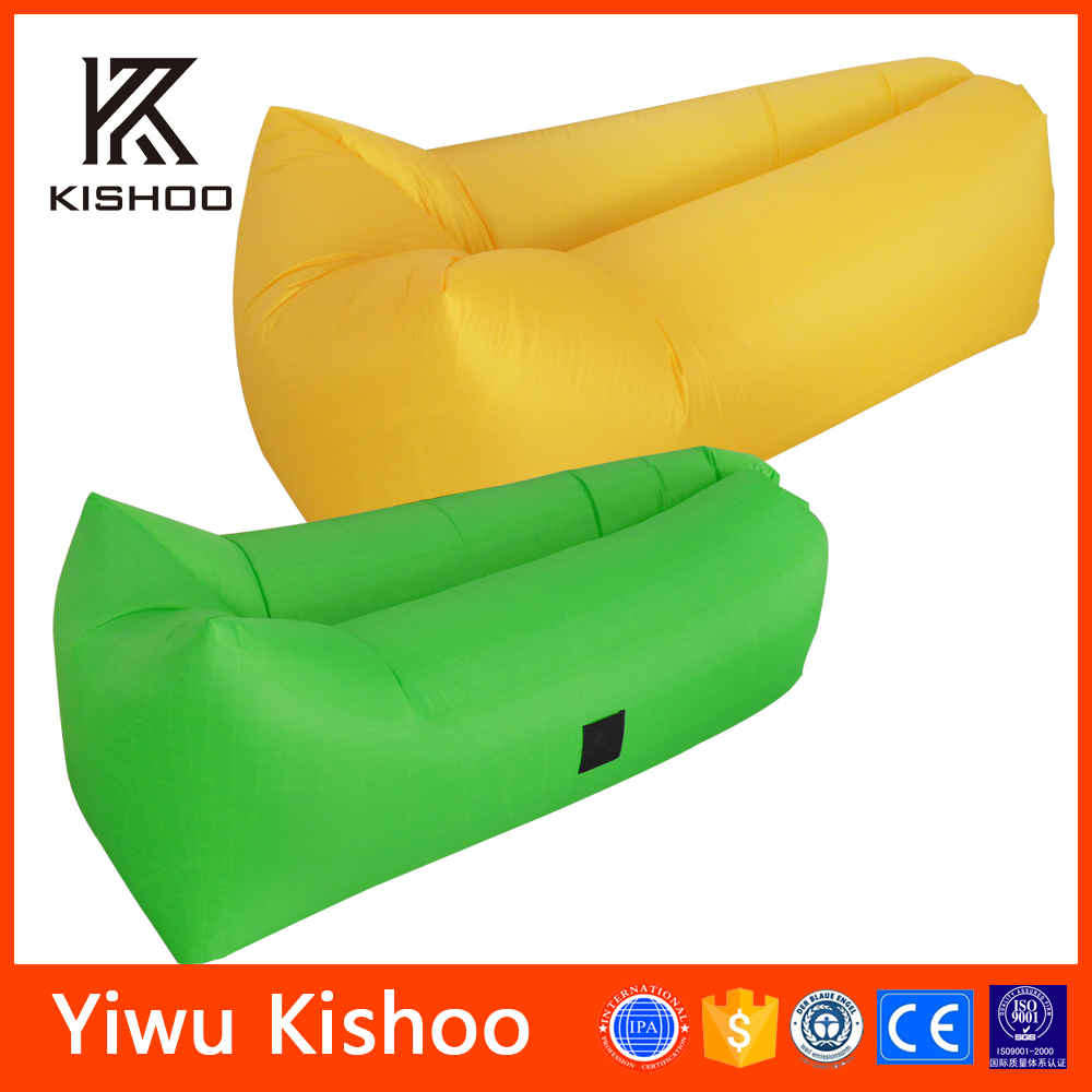 Colorful Lightweight Sleeping Air Bag, New Idea Outdoor Advertising Air Sofa