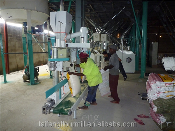 80-100 tpd corn grinding mill machine, maize grinding machine
