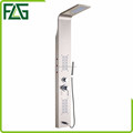 Wholesale water saving LED shower panels 304 stainless steel bathroom