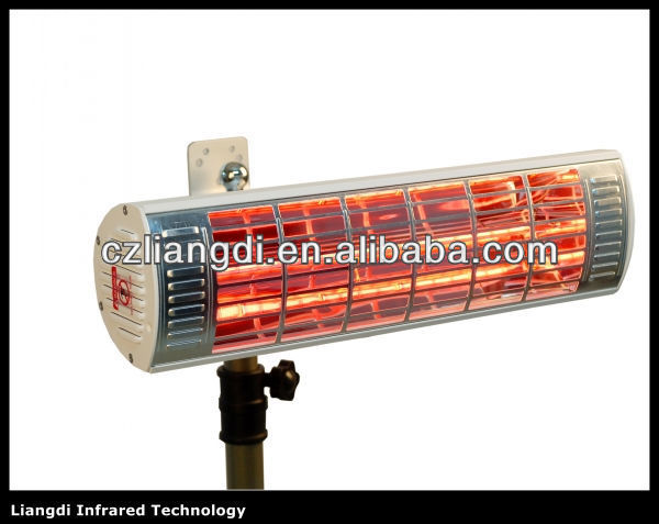 Excellent design waterproof black tube infrared heater